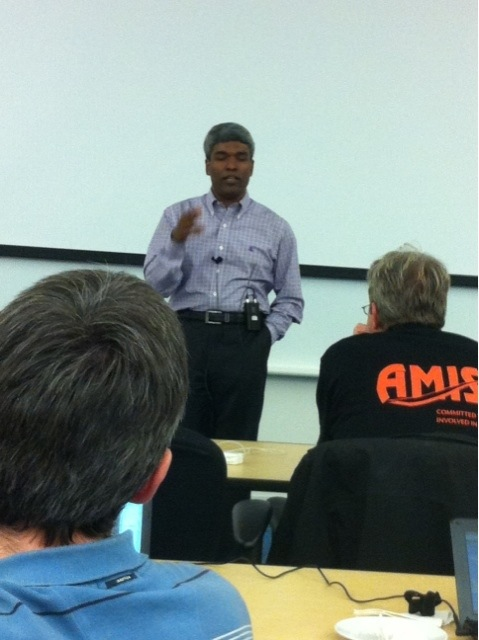 Thomas Kurian during ACED pre OOW Briefing