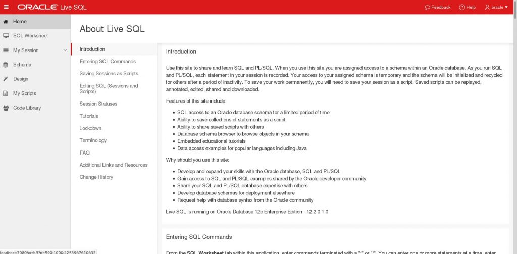 oracle-livesql-about