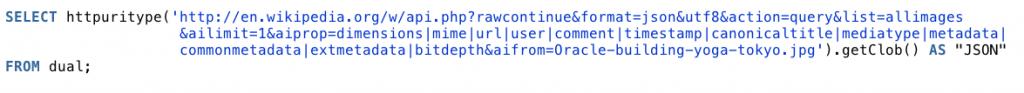 HTTPURITYPE.getClob()