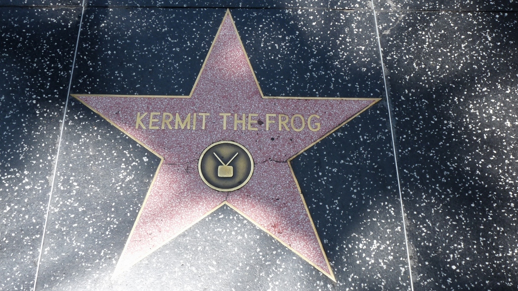 Kermit the Frog, Walk of Fame, Los Angelas, CA, USA
