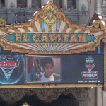 El Capitan, LA, The Movie Theater Disney show its new pictures first
