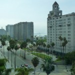 View from one of the elavators from the Renaissance Hotel, Long Beach, CA
