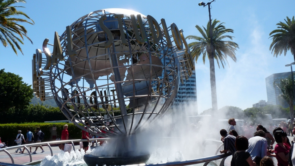 Outside Universal Studio's, LA, USA