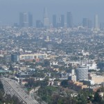 Los Angeles as seen from Mulholland Drive