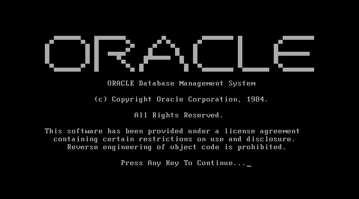 Oracle 4.1 - Creation of the Demo Database