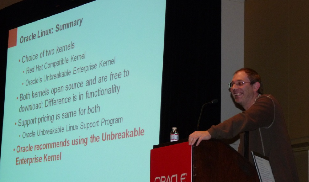 The Oracle Unbreakable Linux Kernel