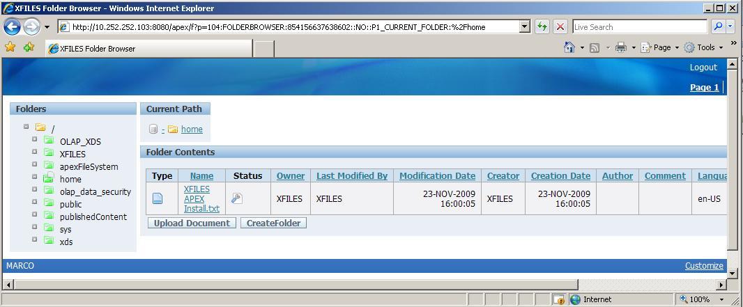xfiles_home_folder